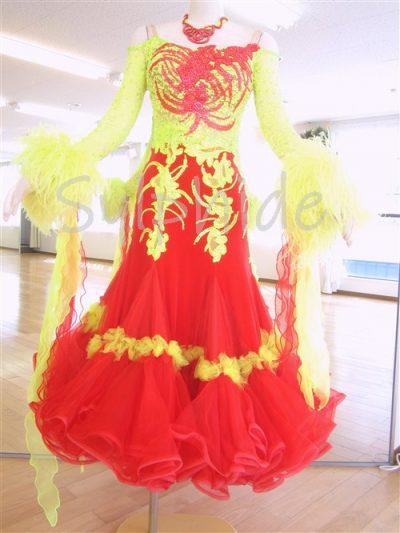 現状のドレス